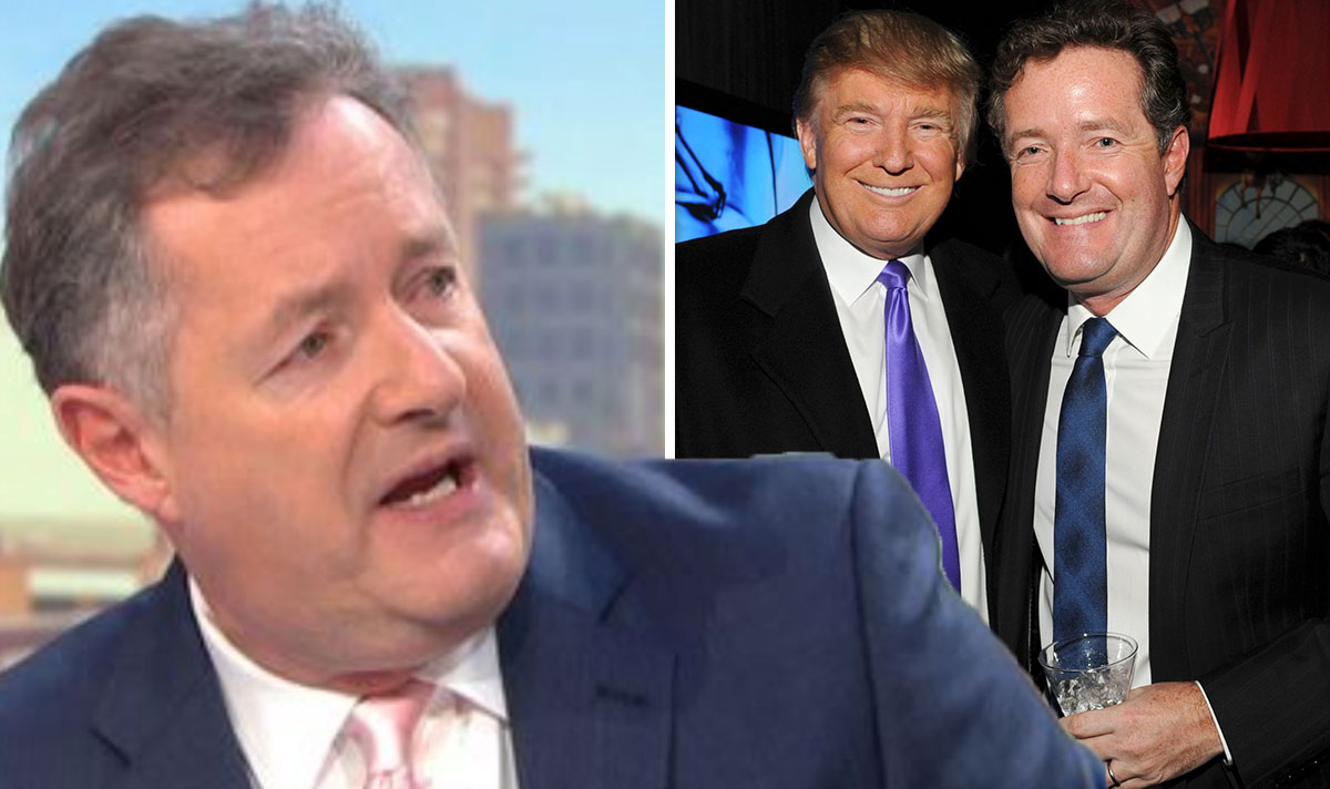 Piers Morgan takes last stab at ex-pal Trump in epic rant 'Gutless graceless sore loser' #InaugurationDay