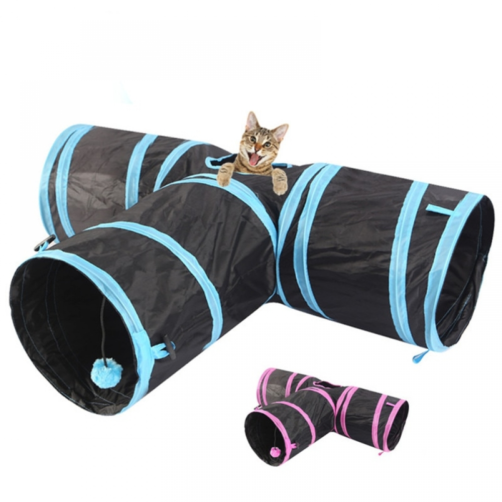 Cat's Tunnel Foldable Toy #love #nature