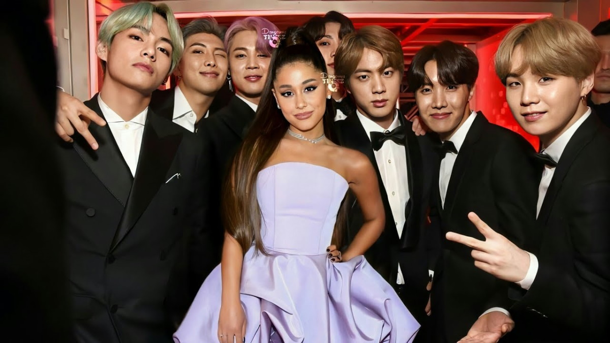 BTS rumored to be collaborating with Ariana Grande