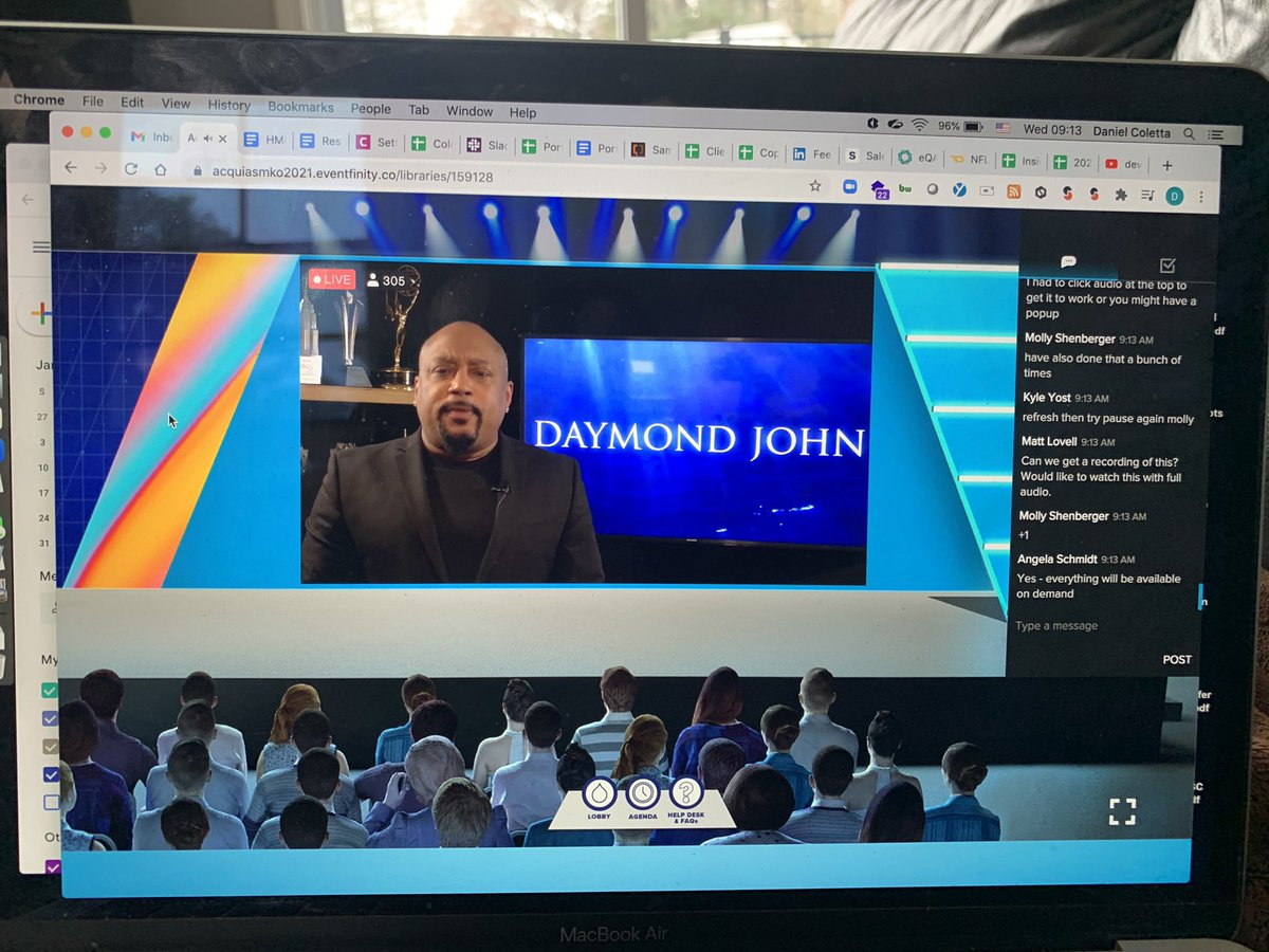 Huge thanks for Daymond John for delivering the keynote at @acquia sales and marketing kick off  #fubu #bufu #AcquiaSMKO2021