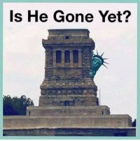 Is he gone yet?  #InaugurationDay #Inauguration2021 #Inauguration #TrumpsLastDay #Trump #wednesdaythought