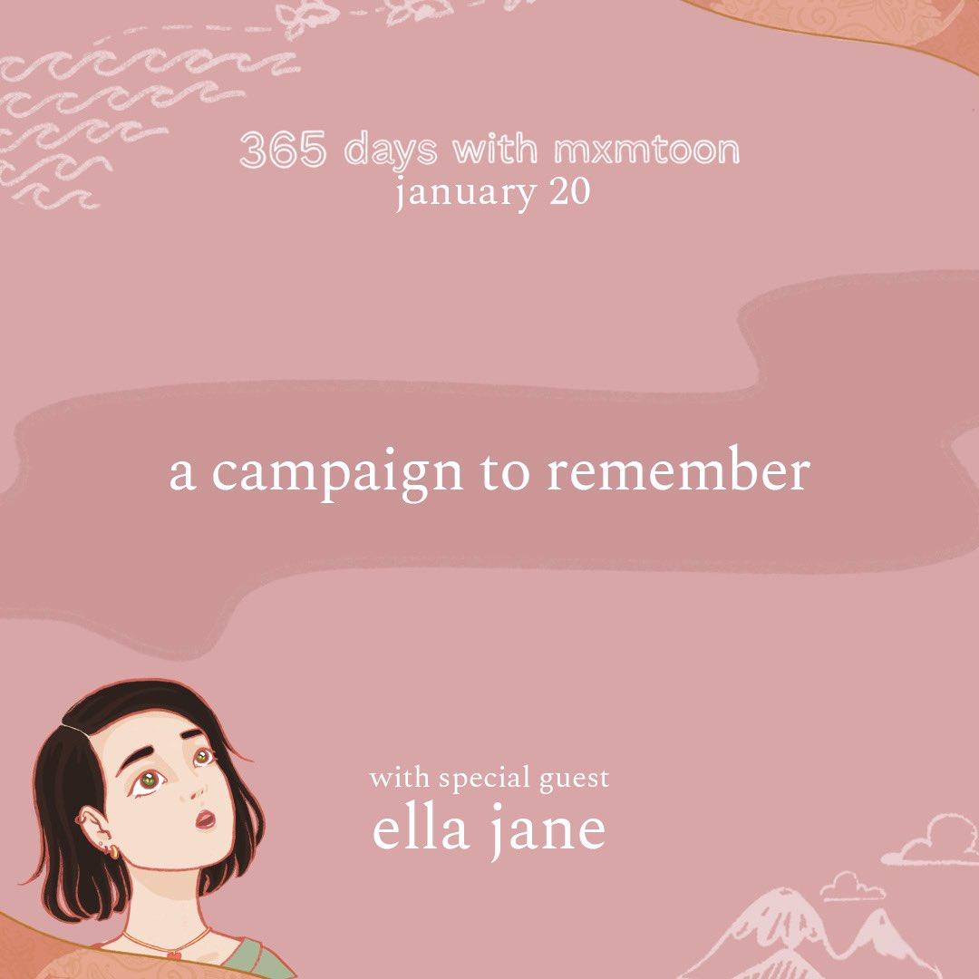 january 20: a campaign to remember (with ella jane) @mxmtoon @BarackObama @ellajanemusic