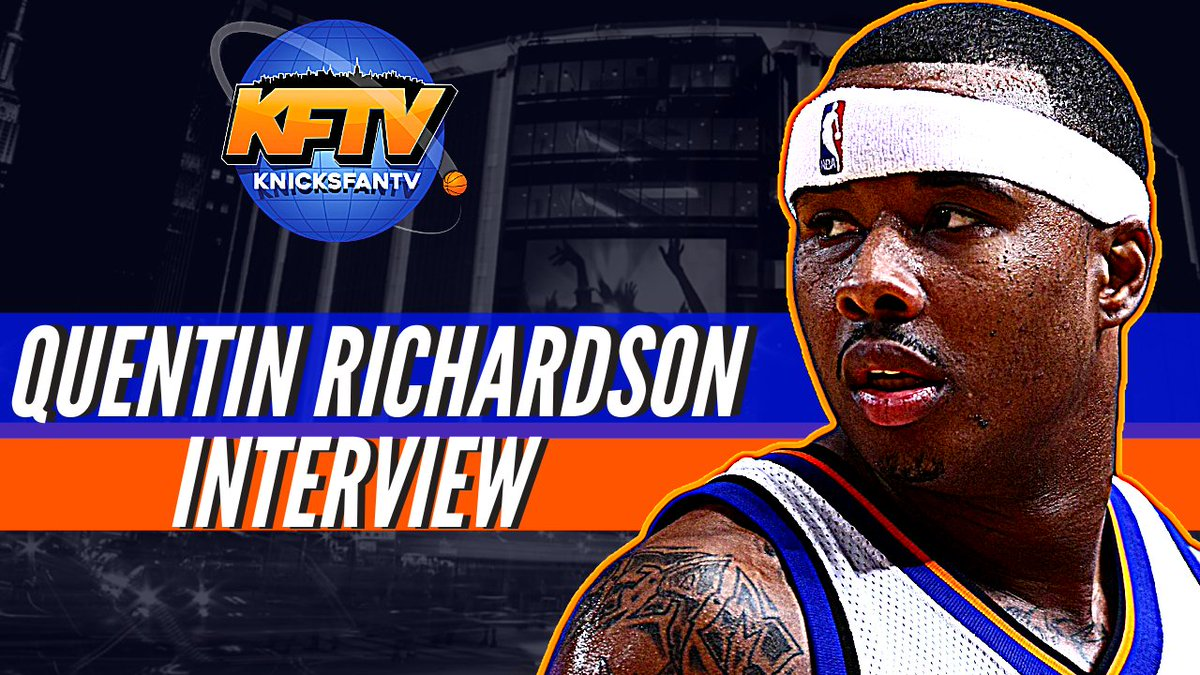Don't miss part 2 of my conversation with @QRich where we chopped it up on Knicks & Knuckleheads stories.  We also clear the air on some smoke I had for him when he played for the Heat!  With the film to prove it! 😆  📽️ - https://t.co/ZCidw45OnB 🍎 Pod - https://t.co/SxI0KXCMrg https://t.co/3RtehVnfUB