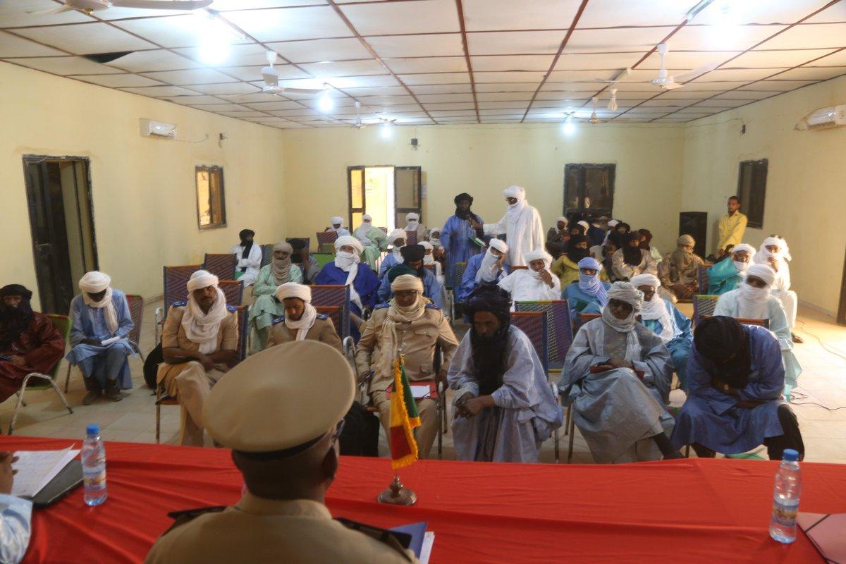 #Mali 🇲🇱 - #Kidal : la MINUSMA appuie le renforcement des capacités des représentants de l'Etat et des élus de la région.  Cliquez ici 📰➡️