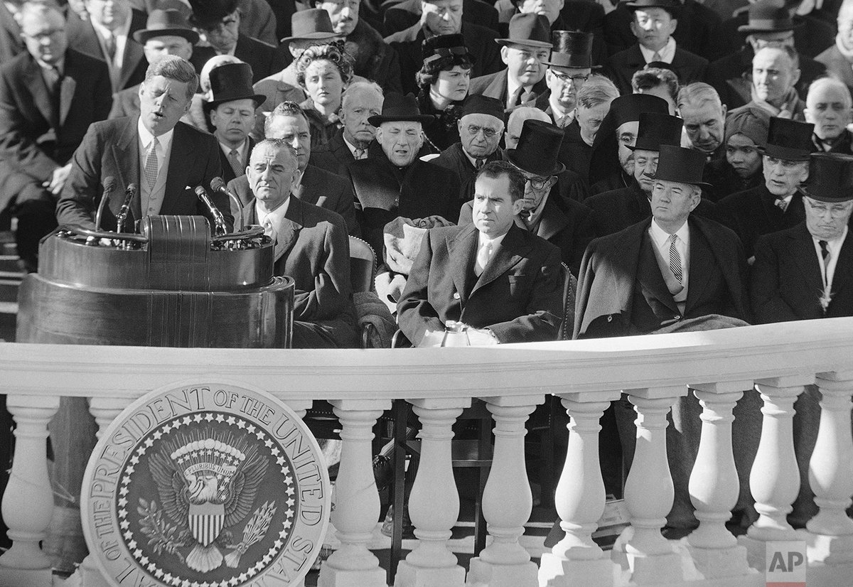 60 years ago today, John F. Kennedy was inaugurated as the 35th President of the United States. https://t.co/3msRLpyspM