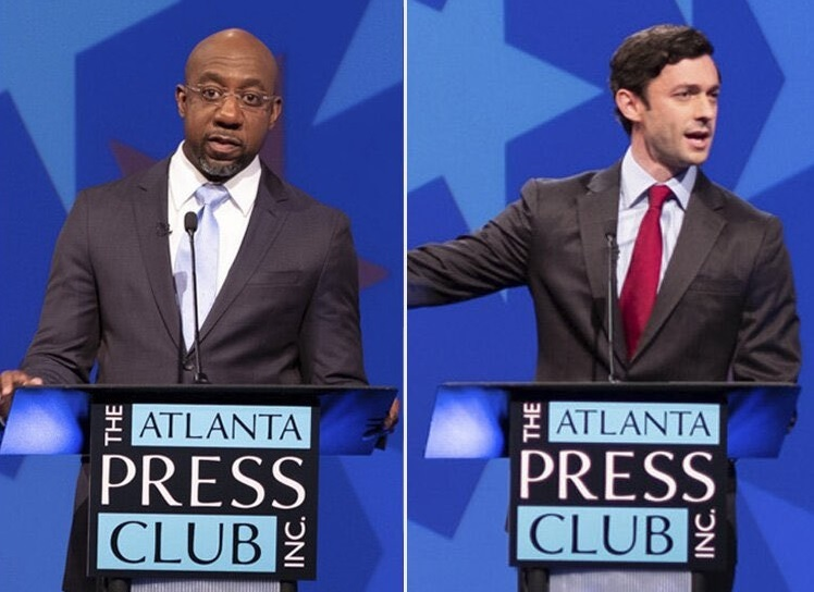 GEORGIA ELECTION UPDATE: Georgia's two new U.S. Senators will be sworn in this afternoon in Washington.  Georgia Public Service Commissioner Bubba McDonald will also be sworn in today for another term. #gapol #gasen @ossoff  More details at