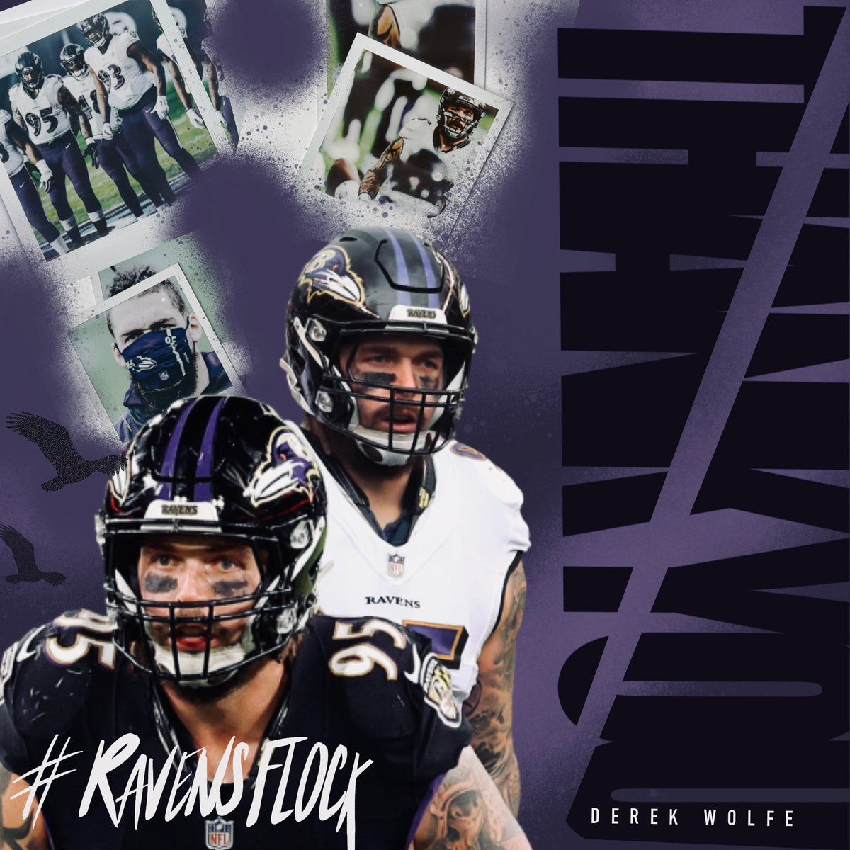 Replying to @Derek_Wolfe95: Thank you #RavensFlock for your endless support this season!