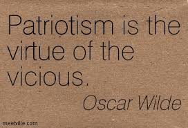 @WashTimes It's at times like these that i'm reminded of these words from #OscarWilde... #PatriotParty #TrumpsLastDay #BidenHarrisInauguration