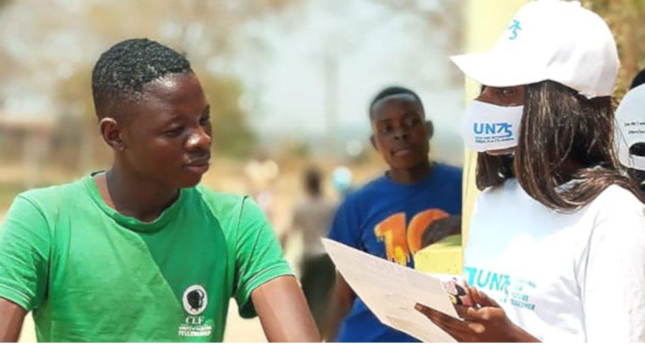 """📔📗📝Rapporto """"Shaping our future together"""" sulle sfide globali🌏  #UN75  @UN  #dirittiumani  👉"""