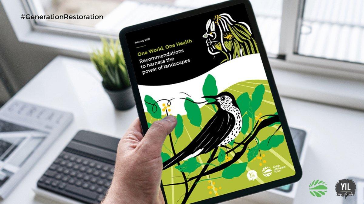 ¿Cómo podemos aprovechar el poder de los paisajes ? 🌱🌎 Nuevo informe del @GlobalLF y @YIL_Initiative ofrece 7 vías para alcanzar los objetivos de #biodiversidad y las metas de #restauración.  📗 #Descarga el resumen en español:   #GenerationRestoration