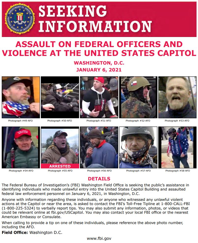 We are continually updating our posters with better photos!  Use the link below ⬇️ to see photos of individuals we are asking the public's help to identify. Thank you for your continued help & support!