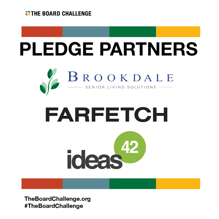 We are excited to share that the following companies have taken #TheBoardChallenge pledge:   @BrookdaleLiving @farfetch @ideas42  Join the movement: