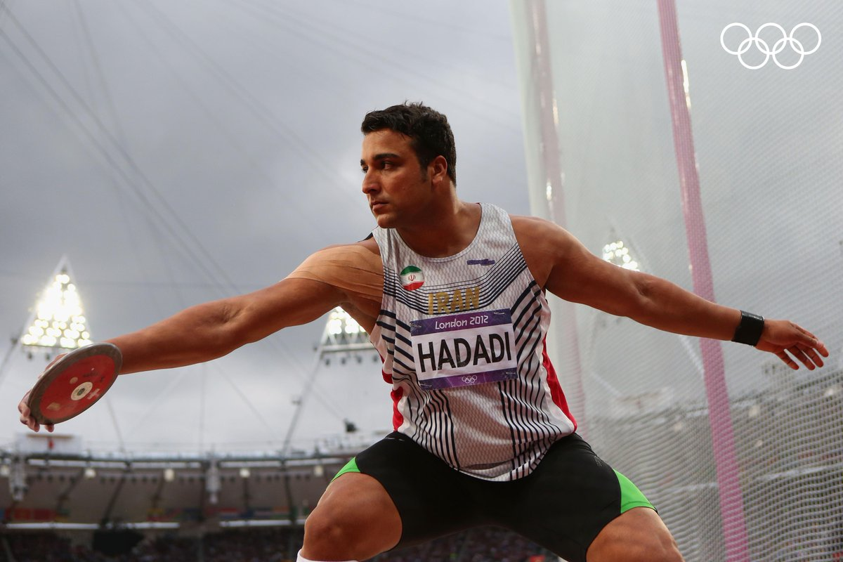 A very Happy Birthday to London 2012 silver medallist Ehsan Haddadi! 🥈 #StrongerTogether  @WorldAthletics