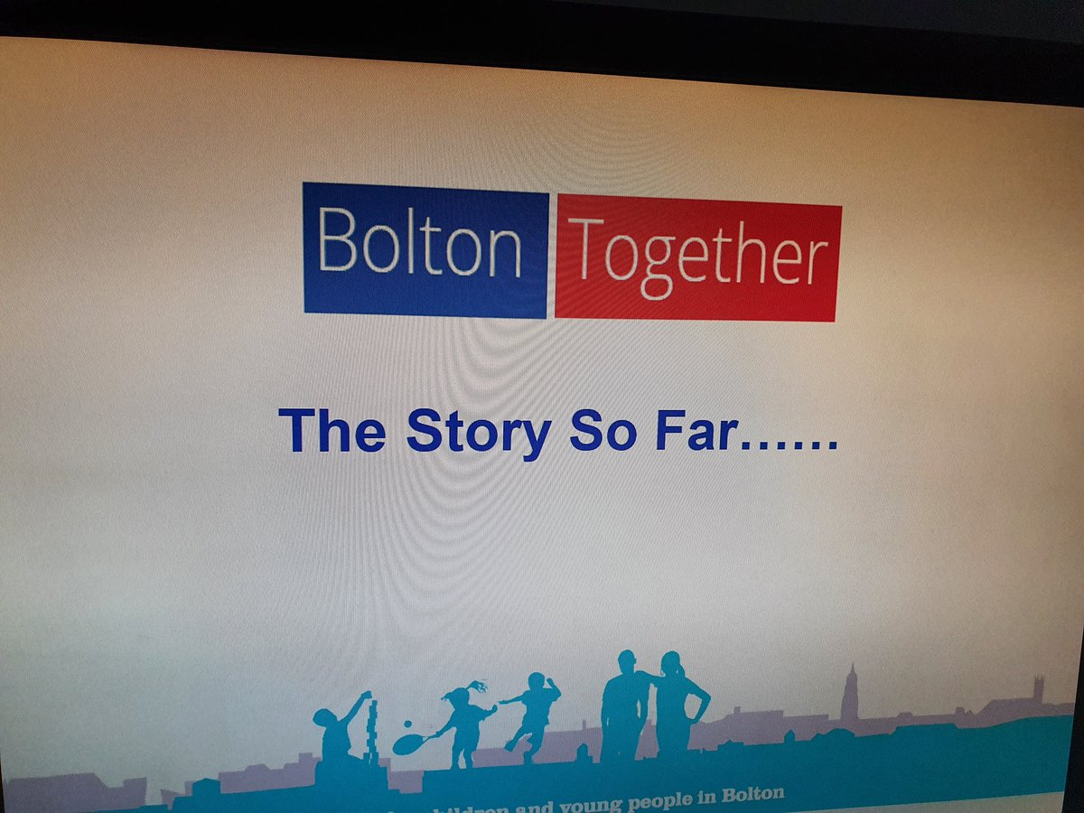 Lovely to see familiar and new faces today @BoltonCVS team meeting. I joined to discuss Bolton Together and how we can work together to support #Bolton residents and its  amazing voluntary sector. #Youngpeople #families #Collaboration #Thrive