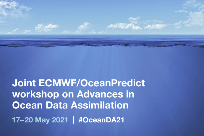 Interested in ocean and coupled #DataAssimilation? Abstracts for an online workshop from 17 to 20 May 2021 can be submitted until 31 January. More details here: ecmwf.int/en/about/media…