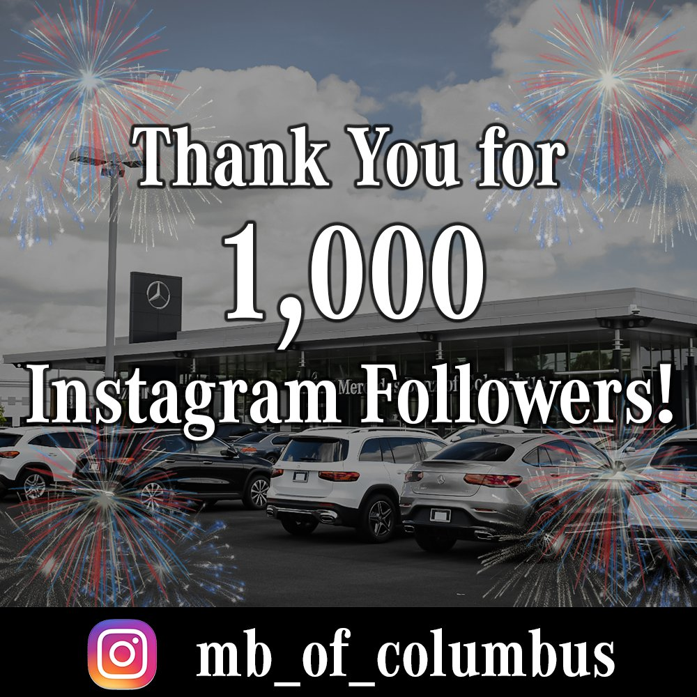 We now have over 1,000 Instagram followers! THANK YOU to everyone who follows us on Instagram.  Not an Instagram follower yet? What are you waiting for? Follow us on Instagram: mb_of_columbus  #ColumbusGeorgia #Colga #Instagram #InstagramFollowers #FollowUs #Follow4Follow