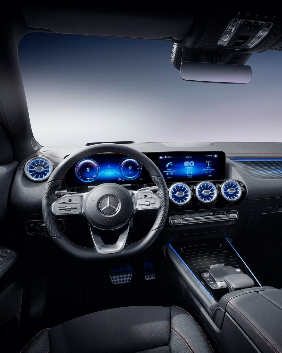 [Stromverbrauch kombiniert: 15,7 kWh/100 km   CO₂-Emissionen kombiniert: 0 g/km      EQA 250]  The brand-new EQA is the entry into the all-electric world of Mercedes-EQ. Learn more here:   #MercedesEQ #MercedesBenz #EQA