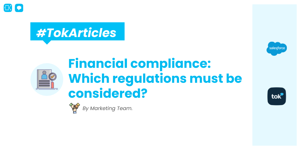 🚨🚨 We all want to keep our data safe and our business compliant. 💪 If you are still struggling with it, take a look at the most important regulations you need to know:  🚀 - #Salesforce #AppExchange #SalesforceAdmin #Customer360 #Compliance #Finances