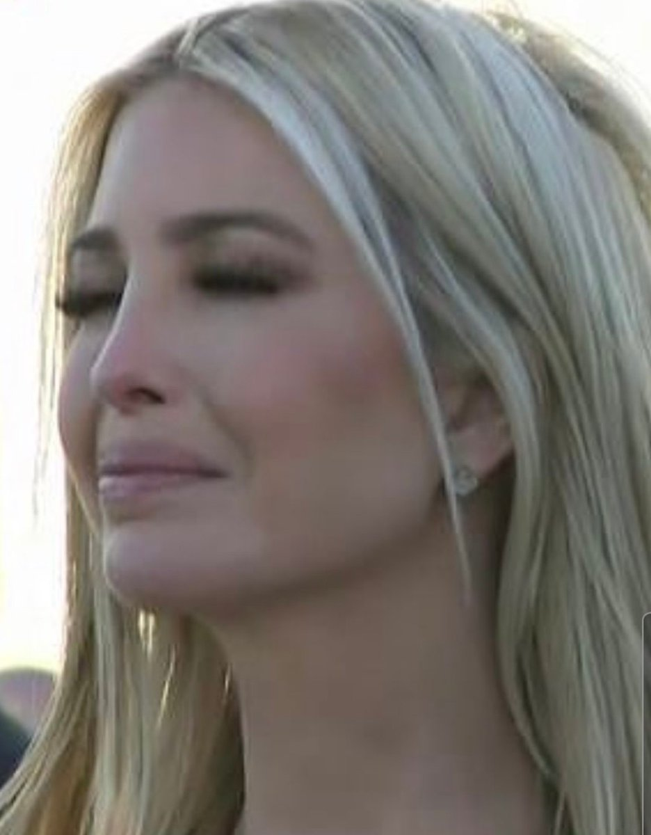 Get used to this face @IvankaTrump, you be showing it a lot in court hun 😘