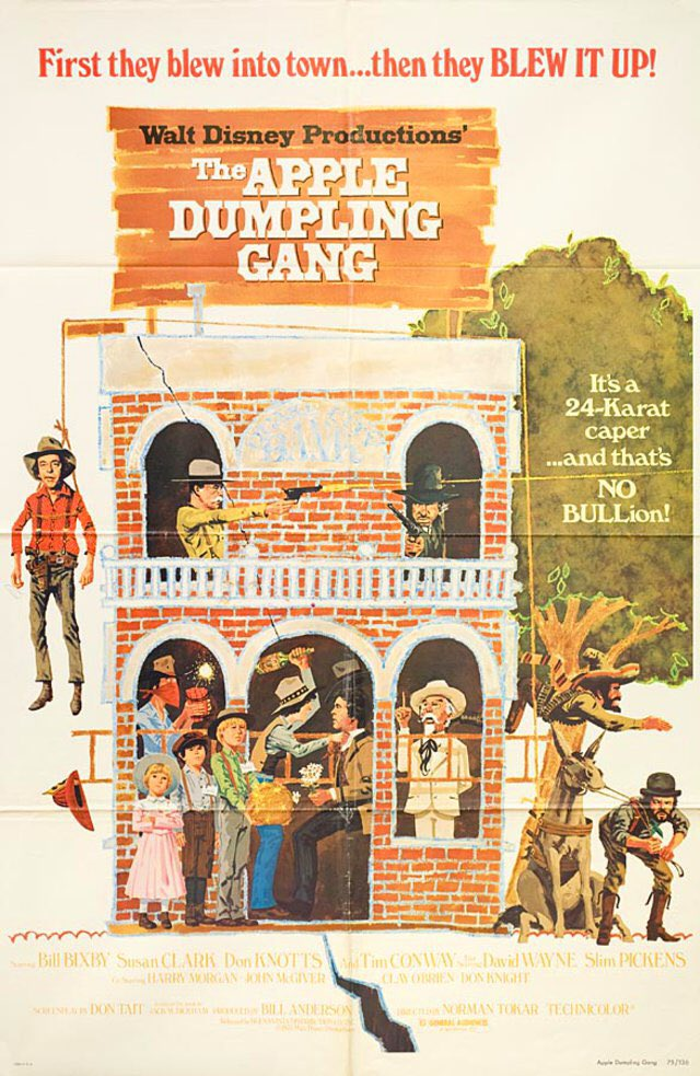 Tonight I Will Be Watching The Apple Dumpling Gang On Disney+ #WaltDisneyArchives #D23 #WaltDisney #Disney #DisneyPlus #AtHomeWithD23 #TheAppleDumplingGang #DonKnotts #TimConway #ABC7Eyewitness