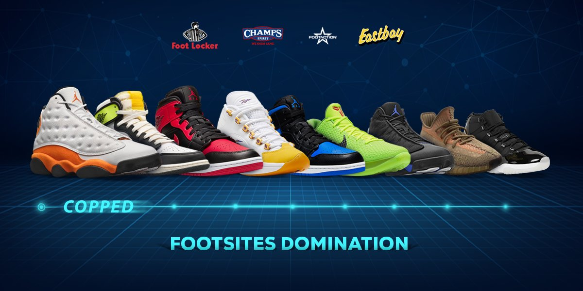 RT= 1x Easycop copy 💥 ECB 1-Month Success Stats📈  🔹85% average user success rate 🔹24,000+ checkouts 🔹Consistent success  Ready to cook some more?😉 #1 Footsites Bot