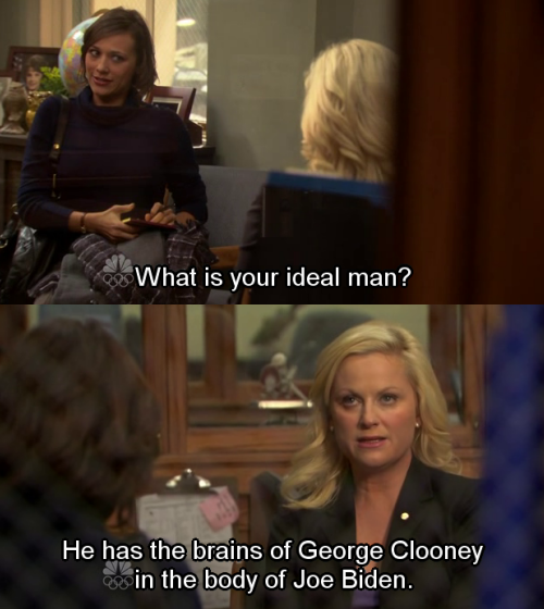 My one wish is for Amy Poehler to reprise her role as Leslie Knope to react to today's inauguration.