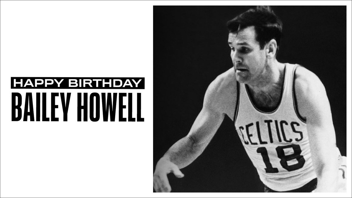 Join us in wishing a Happy 84th Birthday to 6x #NBAAllStar, 2x NBA champion and @Hoophall inductee, Bailey Howell! #NBABDAY