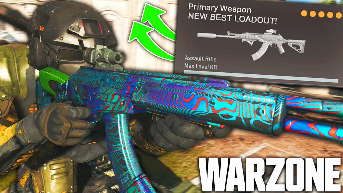 WhosImmortal - Got a banger for y'all today! We're running one of the new best Loadouts to use in #Warzone after the DMR Nerf!   👉