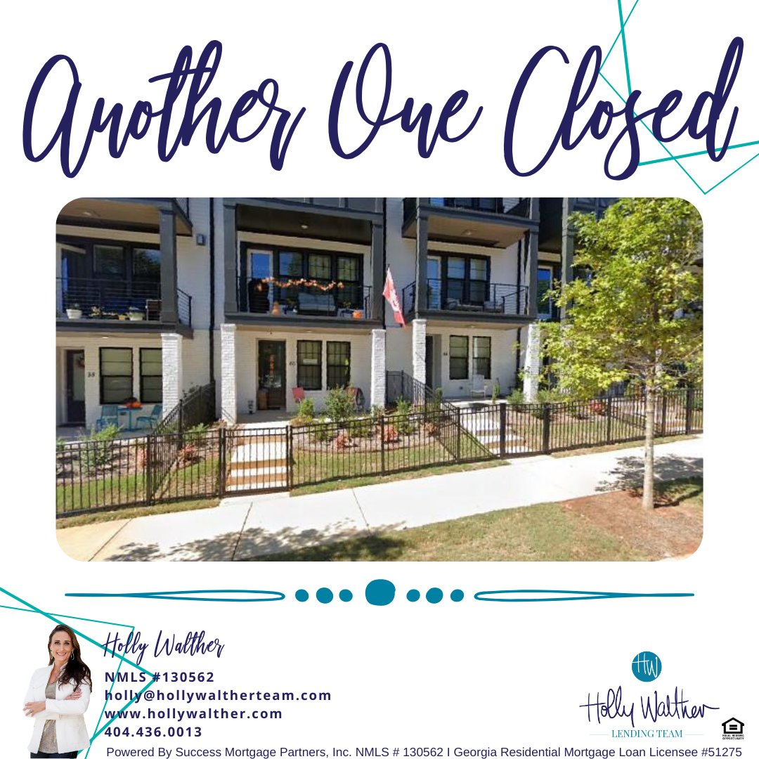 Another one Closed! Congratulations Daniel and Karen !  #lender #realtor #realestate #buyingandselling #refinance #saving #savings #home #homesweethome #house #bossbabe #bosslady #bosslife #TheHollyWaltherLendingTeam #HollyWaltherLendingTeam