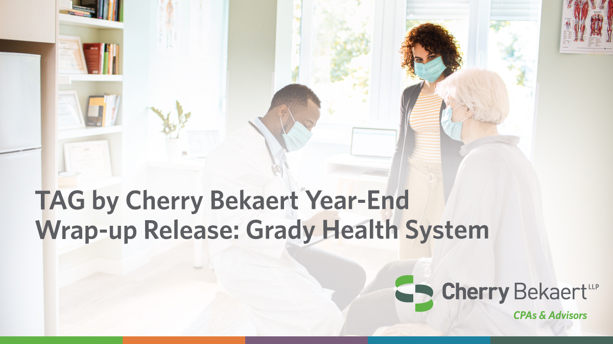 The TAG by Cherry Bekaert 2020 year-end wrap-up is now available: https://t.co/3xVZO2Py7d  #Nonprofits #NMTC #NMTCs #TaxCredits https://t.co/wyebxz7L3e