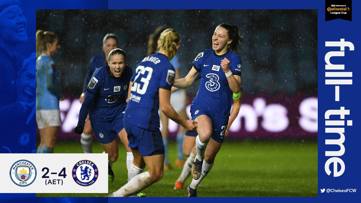 Replying to @ChelseaFCW: #CONTICUP SEMI-FINALISTS! 🤩  #CFCW