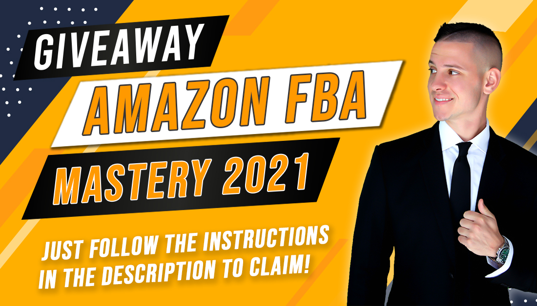 📢 Free Giveaway: Amazon FBA Mastery 2020.  👉 Follow me and retweet this post so that everyone gets a chance to get this course for FREE for the next 24 hours  CLICK HERE 👉👈