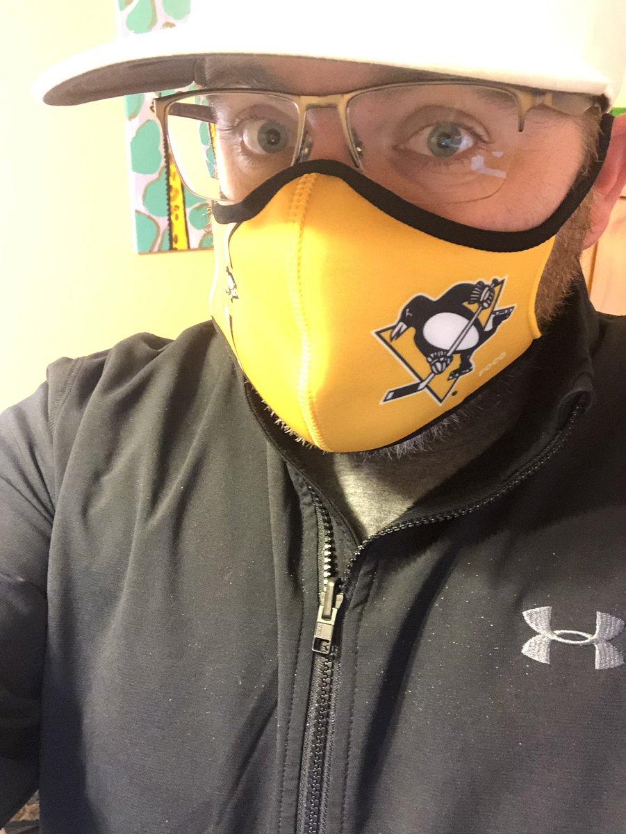 New mask! #LetsGoPens