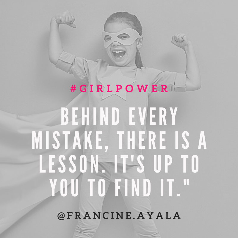 #WednesdayWisdom ~ Behind every mistake, there is a lesson. It's up to you to find it.    #bossbabe #girlboss #bosslady #ladyboss #womeninbusiness #femaleentrepreneur #womensupportingwomen #goaldigger #entrepreneur #businesswomen #bossbabes #womeninbiz