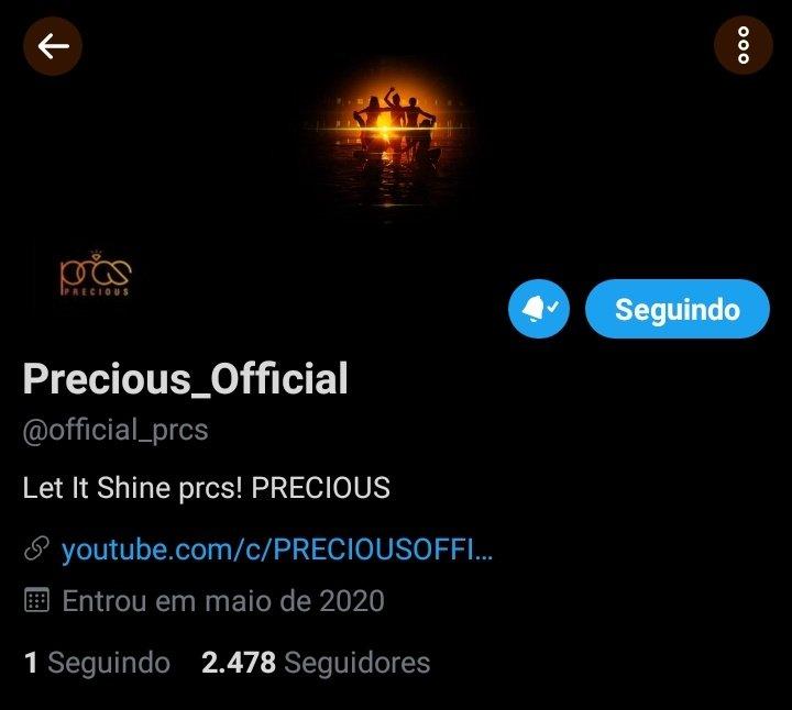 O PRECIOUS atualizou sua foto de perfil do twitter.  Seria o início de uma nova era?🤡👀  #프레셔스 #PRECIOUS
