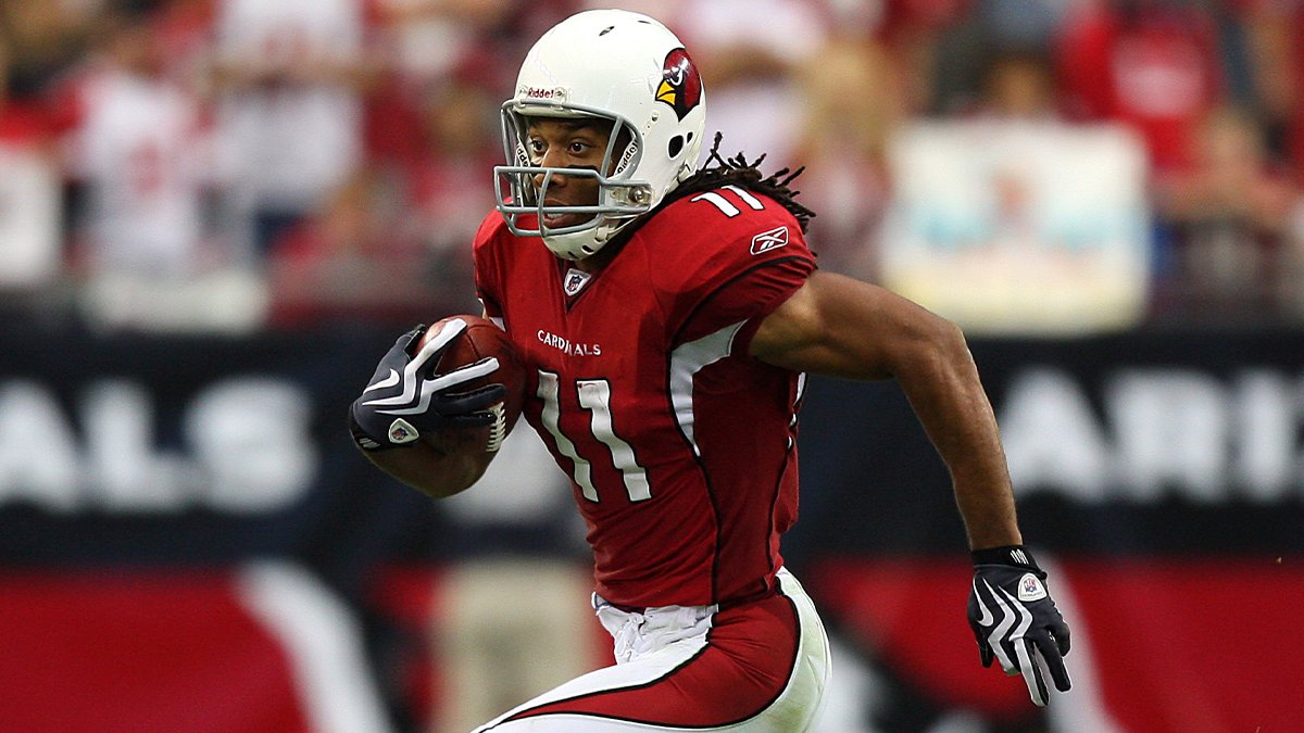 Why do they call him Larry Legend?  Because of games like the 2008 NFC Championship. @LarryFitzgerald (via @nflthrowback).