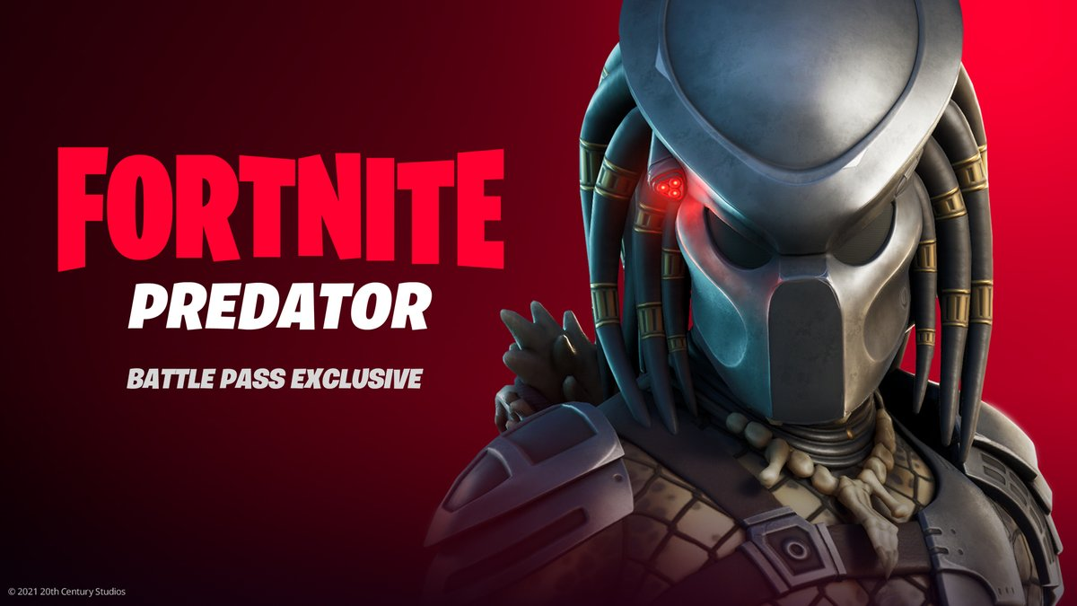 One of the most feared Hunters of all time arrives on the Island.  Battle Pass owners, complete the Jungle Hunter Quests to unlock the Predator.  Read more about this deadly Hunter here: