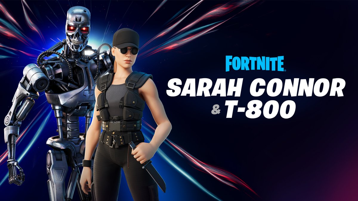 A machine that will never stop.  Sarah Connor and the T-800 are the newest Hunters to arrive on the Island. Grab them in the Shop now!