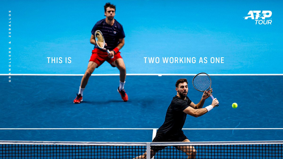 Doubles is going to be 🔥 this year!  #ThisIsTennis