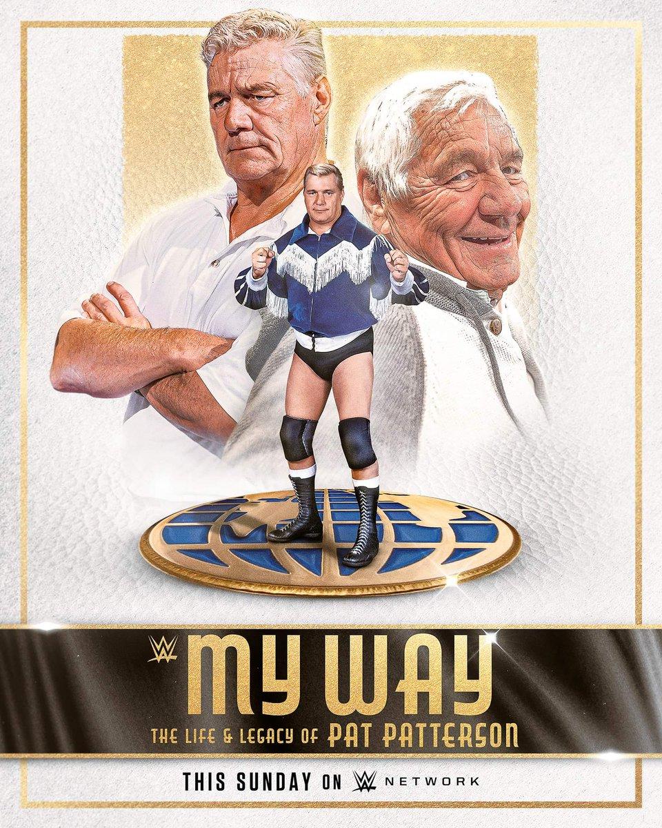 #WWE #wwenetwork #patpatterson  Dimanche sur WWE Network 🙏♥️