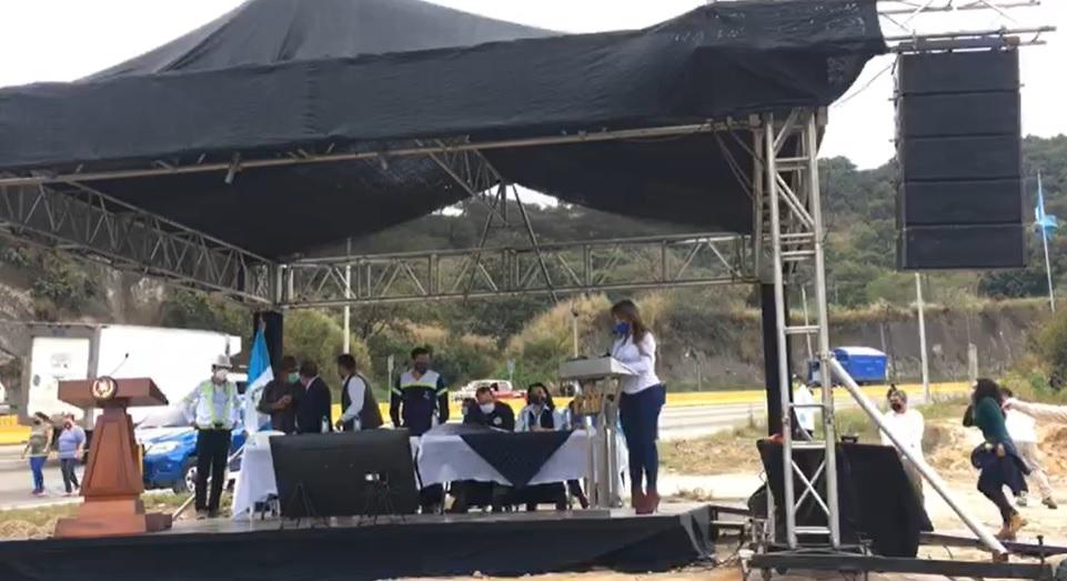 test Twitter Media - El Presidente, Alejandro Giammattei, participa en el inicio de trabajos en paso a desnivel Km19 ruta CA-9 Norte, ingreso a Palencia, un municipio del departamento de Guatemala situado a 28 km al noreste de la Ciudad de Guatemala https://t.co/AjDEOyMe6R