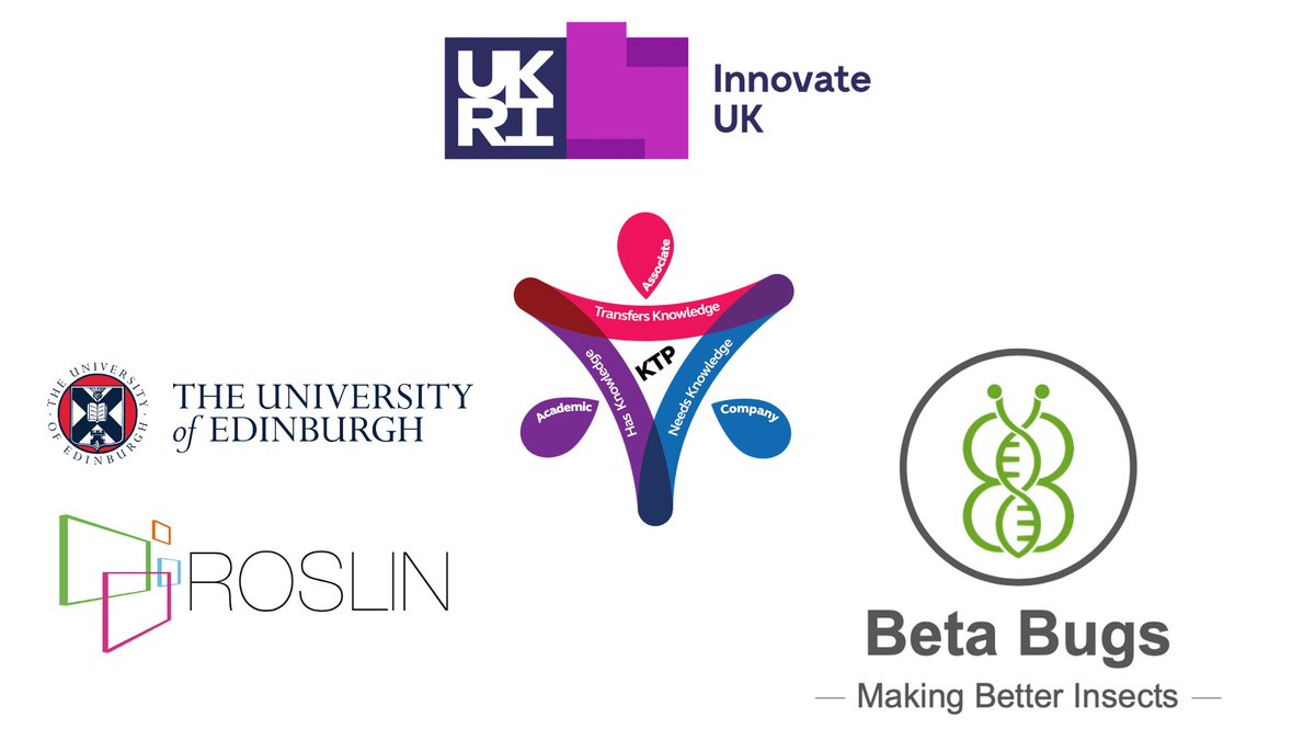Please share: Exciting opportunity to work on quantitative genetics platform DATA-BEAST for an insect breeding operation - a Knowledge Transfer Partnership between @roslininstitute and @BetaBugsLtd. @ktn_ktp @KTNUK @innovateuk @howarth_lorna
