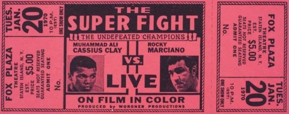 Ambos fueron campeones de peso pesado, invictos en toda su carrera, y siempre quedó la incógnita sobre quién ganaría de haberse enfrentado en su mejor momento.  2/5  #IA #InteligenciaArtificial #AI #ArtificialIntelligence #Boxeo #Boxing #Ali #MuhammadAli #Marciano #RockyMarciano