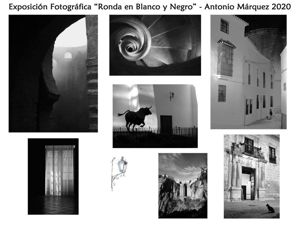 """Colección Fotográfica """"Ronda en Blanco y Negro"""" © Antonio Márquez 2020   #Ronda #expo #fotografia #blackandwhite #blancoynegro"""