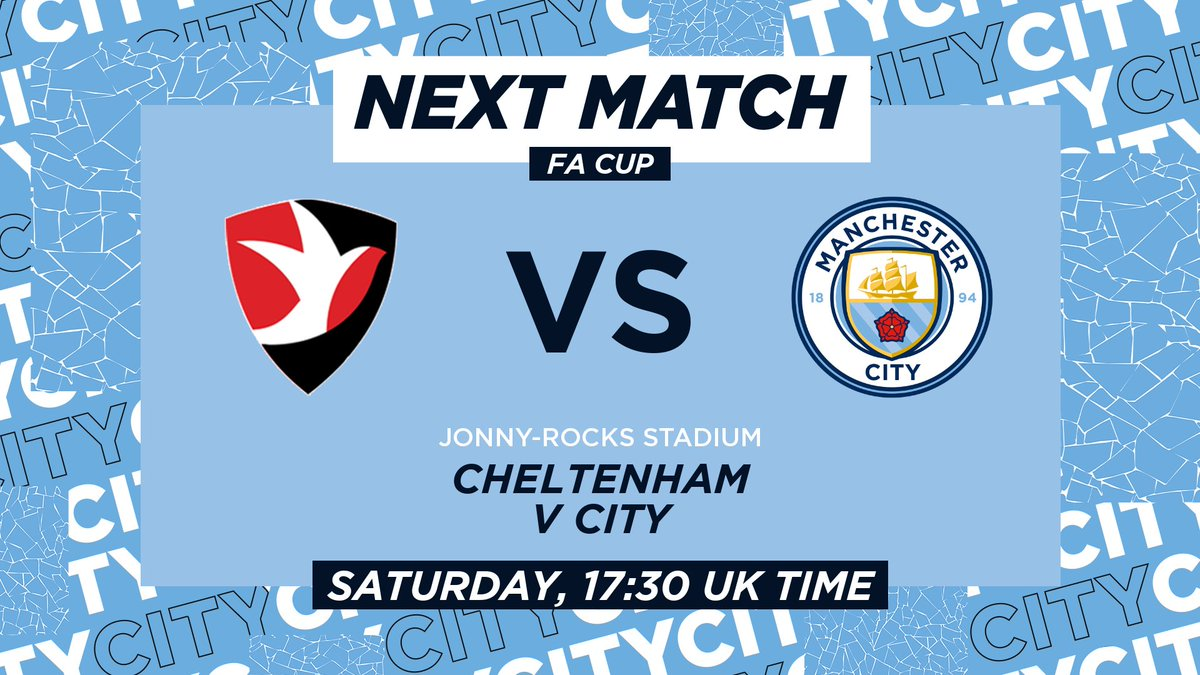 Next up, the cup! 🏆  🔷 #ManCity |