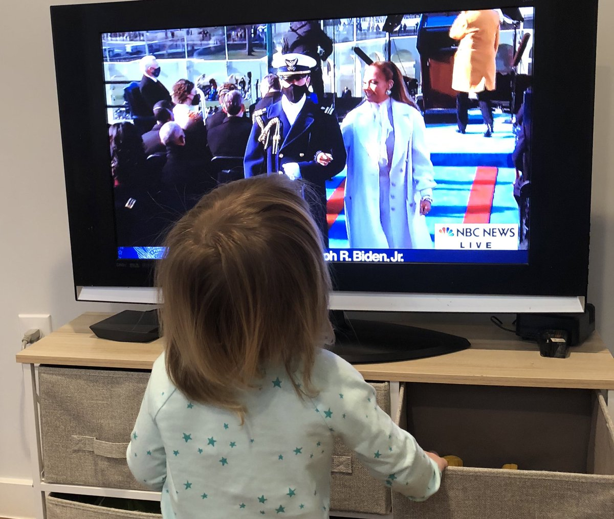 Dispatch from home: Cricket was into JLo. #CrickyFromTheBlock