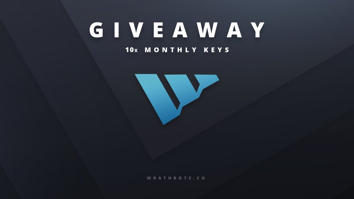 Looking to destroy next months releases? 🥶  We're giving away TEN monthly licenses to help. 💙  To enter: 🔹Like & RT.  🔹Reply #WrathTakesStock, along with why we should supply you with a license.    Winners will be selected LIVE shortly. Best of luck! 🥳