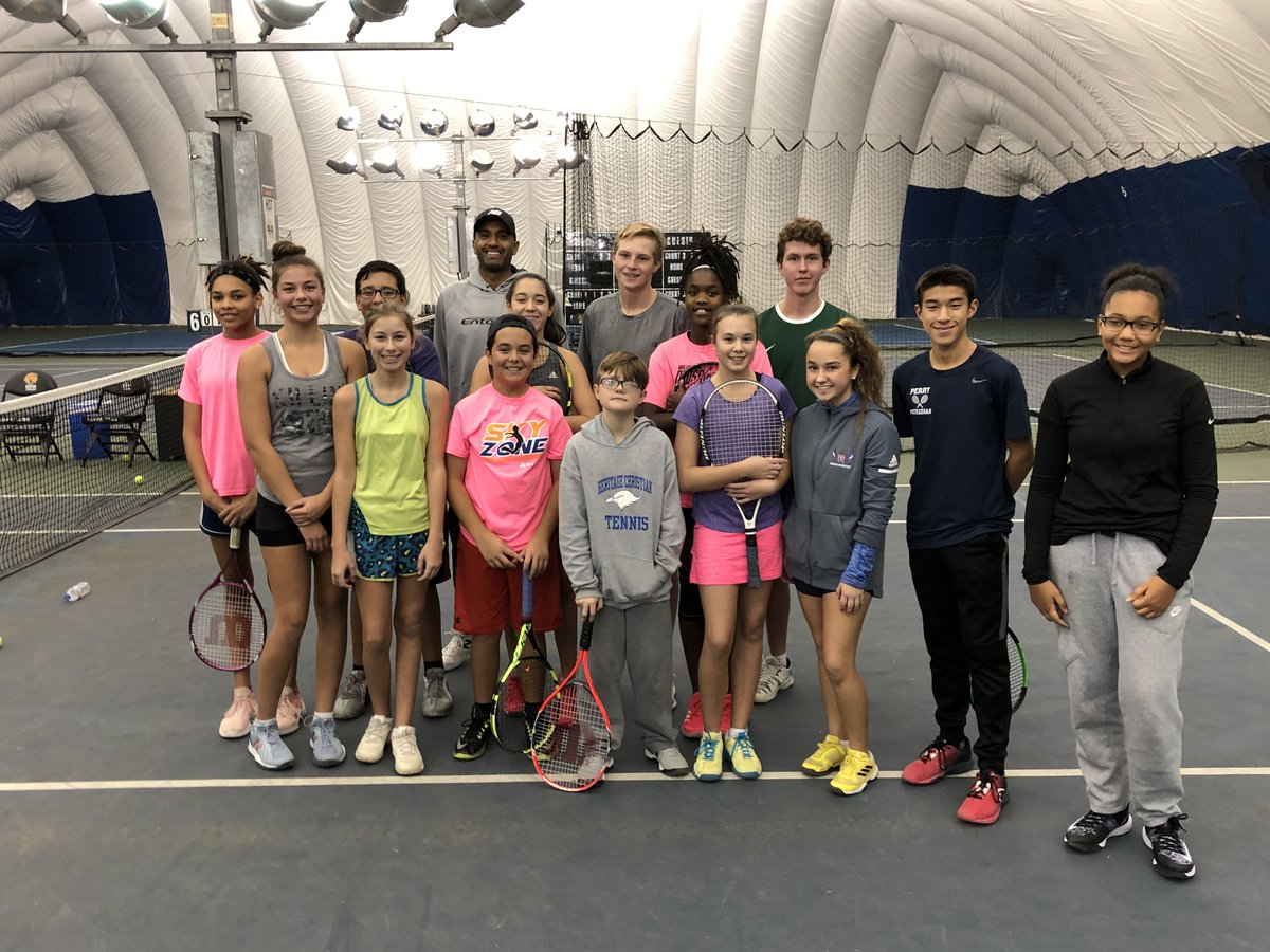 NOTE: Due to a construction issue, our Winter II classes at West Indy have been delayed a week and will now run Feb. 21-March 28.  Our classes at IRC East will still be held Feb. 14-March 21.  ➡️ REGISTER:   #NJTL #Indianapolis #tennis #classes