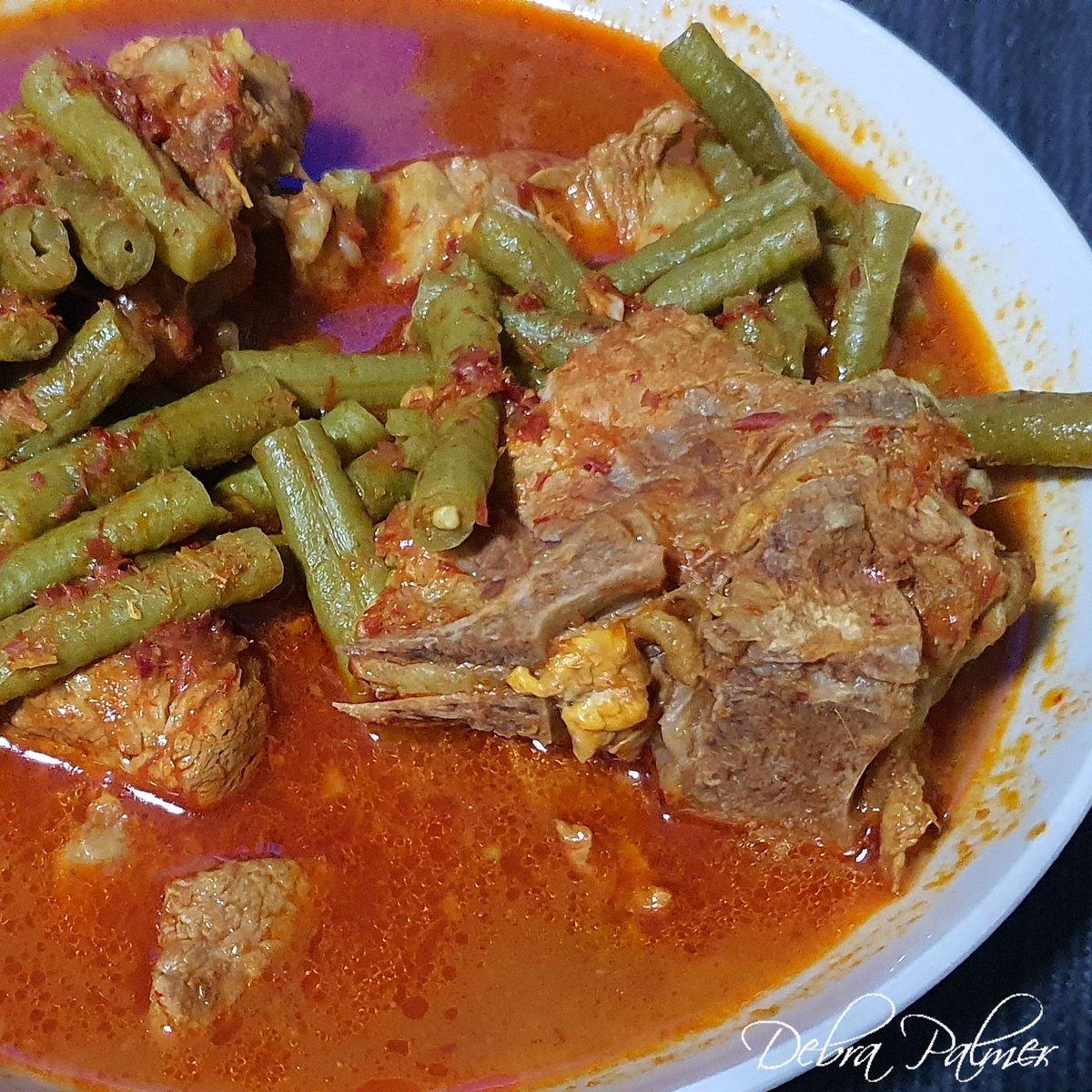 Pork bones and long beans curry #food #foodporn #foodphotography #foodie #foods #foodstagram #foodgasm