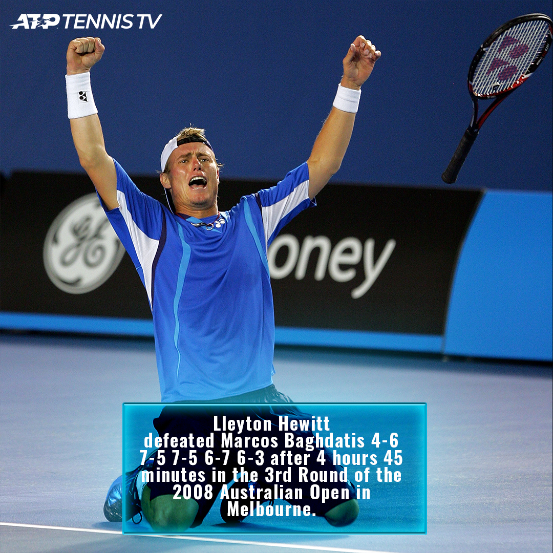 4.33am local time in Melbourne 😳  #OnThisDay in 2008, the latest ever finish in @AustralianOpen history....